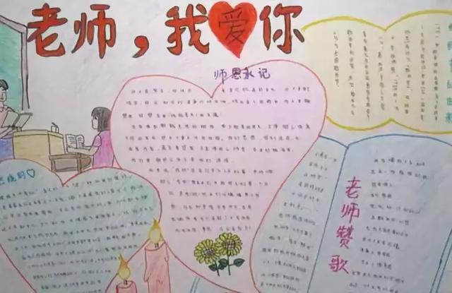 教师节主题手抄报 教师节祝福语素材,快收藏吧!